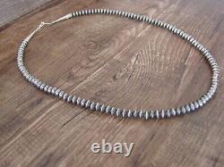 Navajo Indian Desert Pearl Main Strung 20 Collier Doreen Jake
