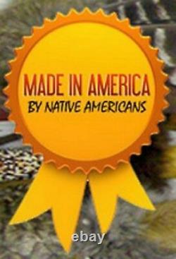 Navajo Natural # 8 Spiderweb Turquoise Anneau Homme Argent Grand Garçon Tailles 9 À 13